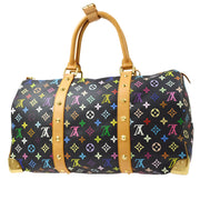 LOUIS VUITTON KEEPALL 45 Duffle TRAVEL HAND BAG MONOGRAM MULTI M92640