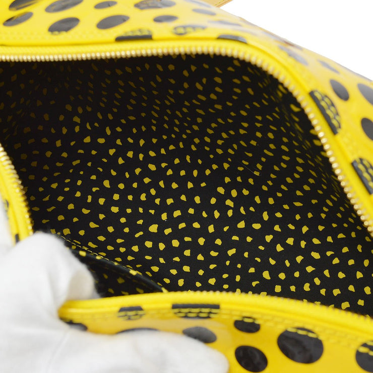 LOUIS VUITTON PAPILLON SHOULDER BAG YELLOW INFINITY DOTS YAYOI KUSAMA M91424