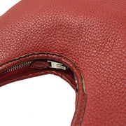 HERMES MASSAI PM 2way Hand Shoulder Bag Red Taurillon Clemence