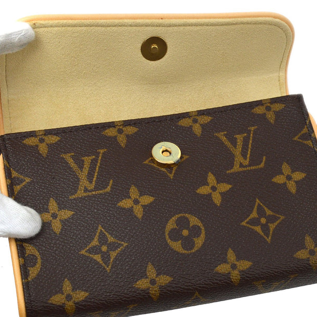 LOUIS VUITTON POCHETTE FLORENTINE BUM Belt Bag BAG #S MONOGRAM M51855