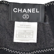 CHANEL 02P #42 T-shirt Black