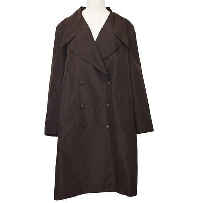 CHANEL 98A #36 Coat Jacket Brown