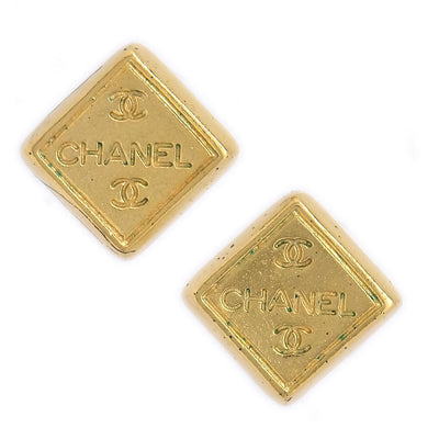 CHANEL Square Mini Piercing Gold 99A