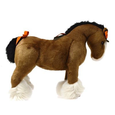 HERMES Hermy PM Baby Horse Plush Doll Brown Toy
