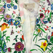 GUCCI Floral Line Jacket White #38