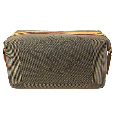 LOUIS VUITTON TROUSSE ALBATROS POUCH BAG DAMIER JEANT M93089