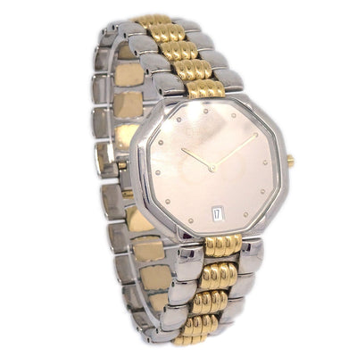 Christian Dior 45.204 Men's Wristwatch Watch Date Quartz Silver