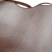 HERMES ONIMATOU Shoulder Bag Dark Brown Box Calf