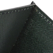 LOUIS VUITTON POCHETTE TRAPEZE GM CLUTCH HAND BAG BLACK EPI M80166