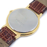 Yves Saint Laurent Ladies Wristwatch Watch Quartz Brown Gold