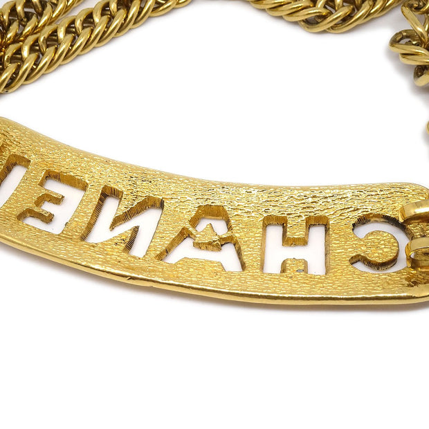 CHANEL Gold Chain Belt 29
