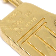 HERMES 2002 ANNEE DB LA MINE Cadena Padlock Bag Gold