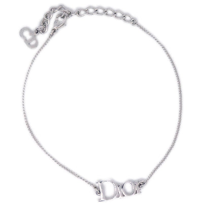Christian Dior Silver Chain Bracelet