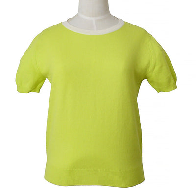 CHANEL 96C #40 T-shirt Light Green