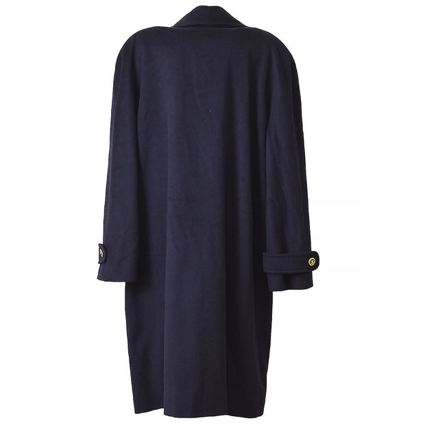 CHANEL 94A #42 Long Coats Navy