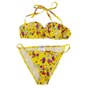 CHANEL 01P #38 Bikini Swimwear Swimsuit Yellow