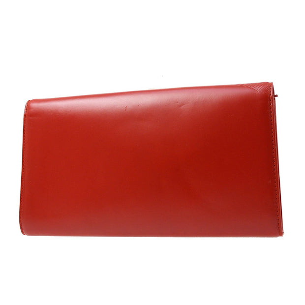 LOUIS VUITTON OPERA AEGEAN CLUTCH HAND BAG RED M63967