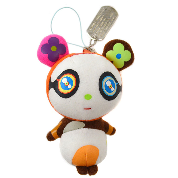 LOUIS VUITTON PETIT PANDA BAG CHARM KEY HOLDER TAKASHI MURAKAMI Small Good