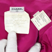 CHANEL #40 Trench Coat Purple
