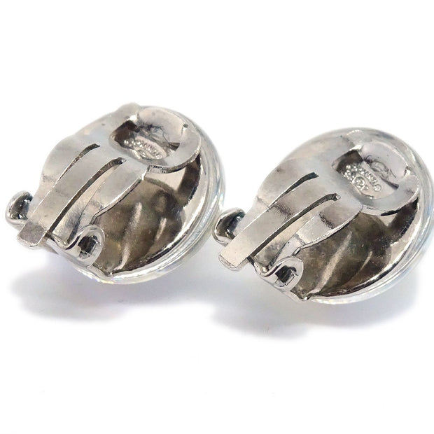CHANEL Bijou Earrings Silver 99P