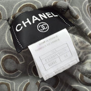 CHANEL 01A #44 Turtleneck Long Sleeves Tops Gray
