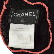 CHANEL 99P #38 Sleeveless Tops Black