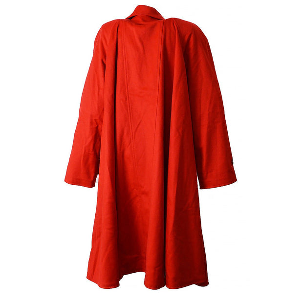 CHANEL Long Coat Jacket Red 94A #34
