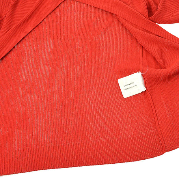 CHANEL 02P #38 Ensemble Cardigan Tops Red