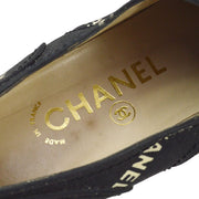 CHANEL Sneakers Shoes Black #36
