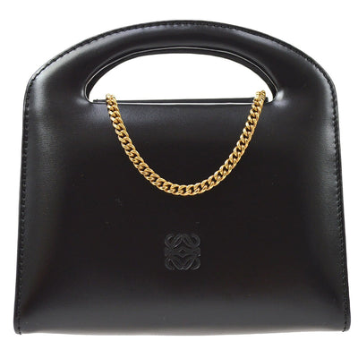 LOEWE 2way Hand Shoulder Bag Black