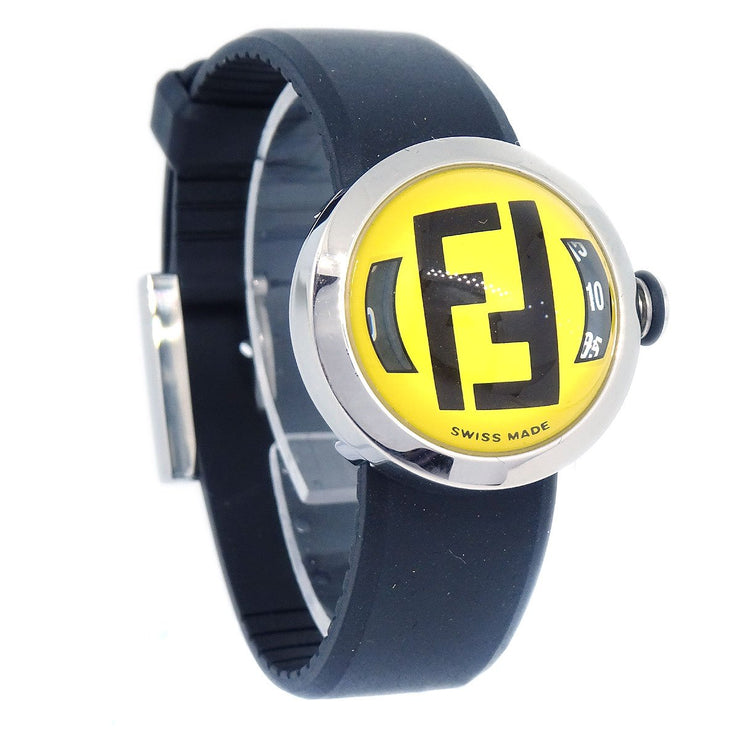 FENDI 8010L Bussola Ladies Quartz Wristwatch Yellow 001-631 5ATM Watch