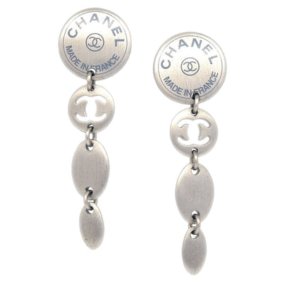 CHANEL Shakings Piercing Silver 99A
