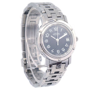 HERMES Clipper Date CL4.210 2207*** Ladies Quartz Wristwatch