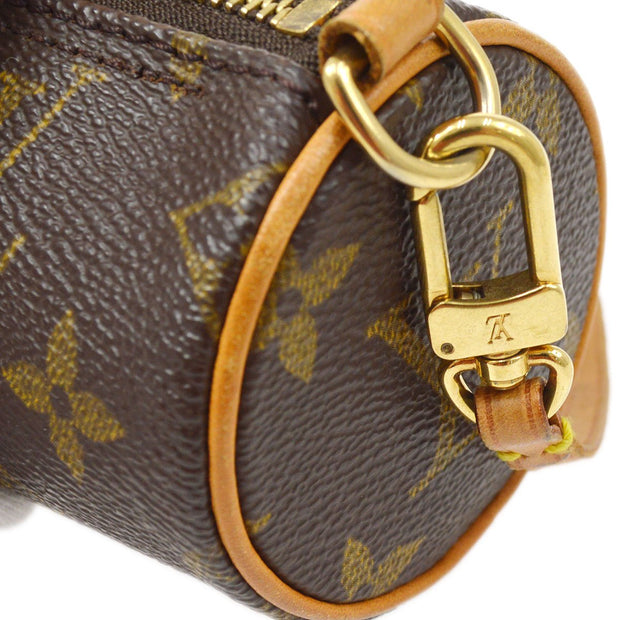 LOUIS VUITTON PAPILLON ATTACHED POUCH MONOGRAM