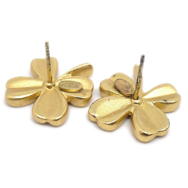 CHANEL Clover Piercing Gold 03P