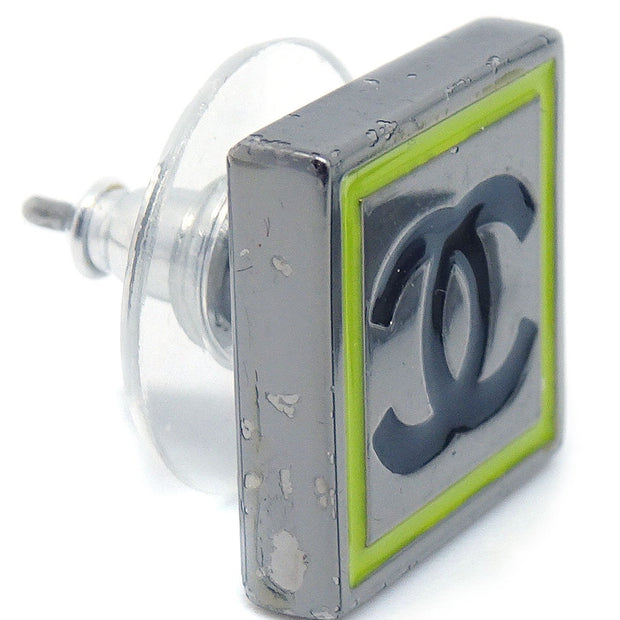 CHANEL Square Piercing Silver 04A