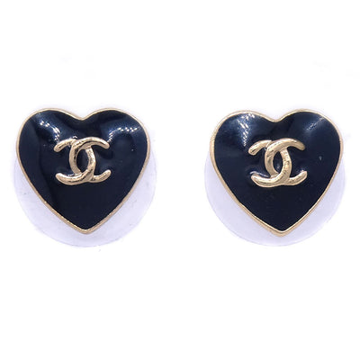 CHANEL Heart Pierce Black 04A