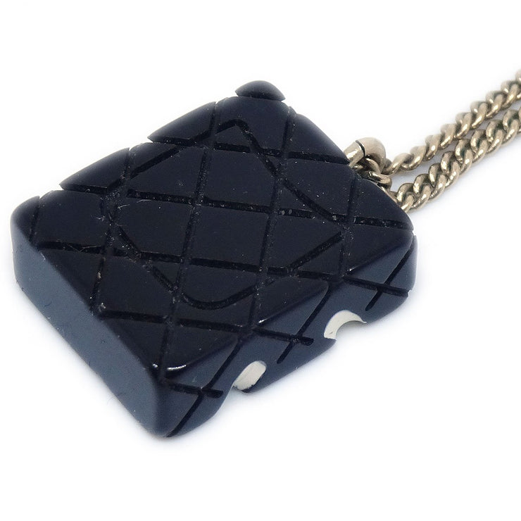 CHANEL Cambon Line Gold Chain Pendant Necklace