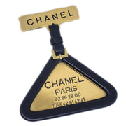 CHANEL Brooch Pin Corsage Gold Black 94P