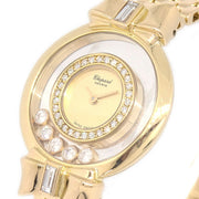 Chopard Happy Diamonds 20/5512 Ladies Quartz Wristwatch Yellow Gold 750