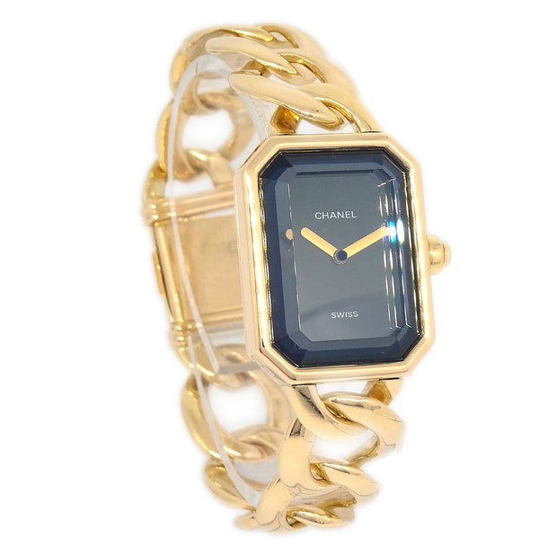 CHANEL Premiere Ladies Quartz Wristwatch #S K18 YG750