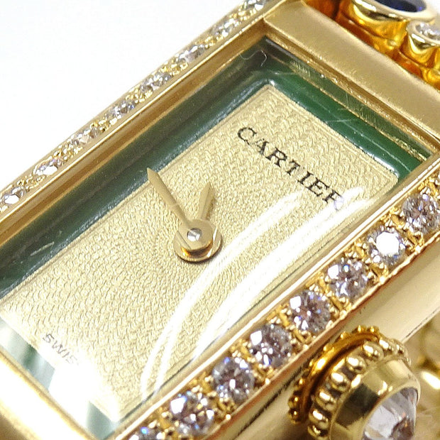 Cartier TANK ALLONGE 1380 Ladies Quartz Wristwatch