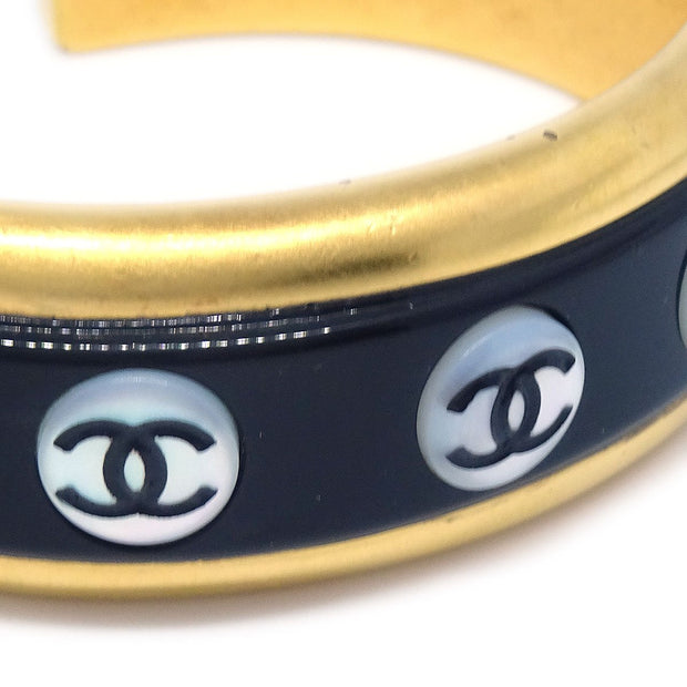 CHANEL Bangle Gold Black 98P