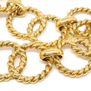 CHANEL Medallion Gold Chain Belt 23