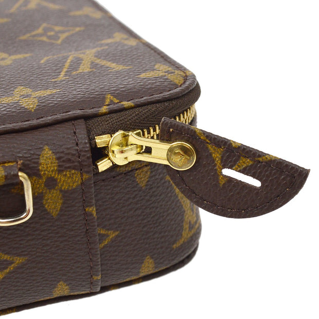 LOUIS VUITTON POCHE MONTECARLO JEWELRY CASE MONOGRAM M47350