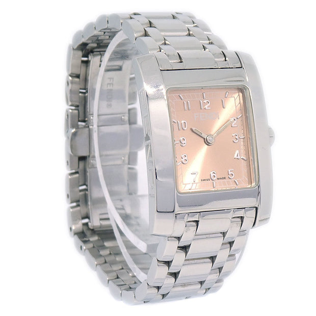 FENDI 7000L Ladies Quartz Wristwatch Stainless steel