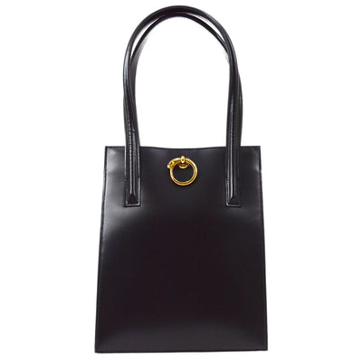 Cartier Panther Hand Tote Bag Black