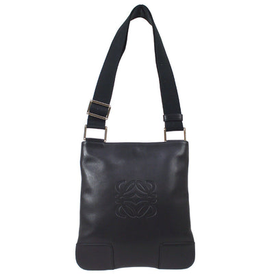 LOEWE Big Anagram Shoulder Bag Black