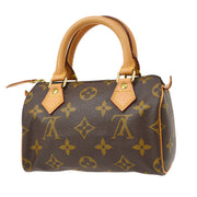 LOUIS VUITTON MINI SPEEDY HAND BAG MONOGRAM M41534