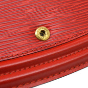 LOUIS VUITTON TILSITT BUM BELT BAG POUCH RED EPI M52607
